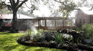 Mosquito Backyard Dallas Mosquito Misting Systems
