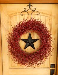 Primitive Home Decors Summer Wreath Patriotic Door Wreath Primitive Home Decor Large