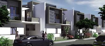 Row House Front Elevation - greystone villas row houses in mysore duplex houses in mysore