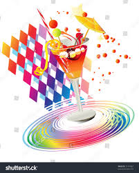 rainbow cocktail drink rainbow partys drink stock vector 73194967 shutterstock
