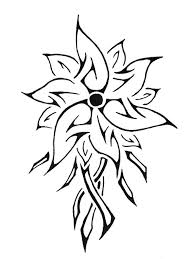 tribal flower tattoo designs pictures to pin on pinterest tattooskid