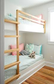 Bunk Bed Without Bottom Bunk How To Make Diy Built In Bunk Beds House