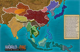 Asia Map Countries by World On Fire In Asia Map Game Roundtripticket Me