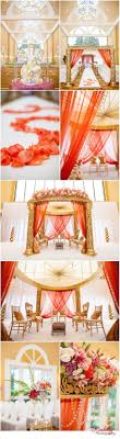 hindu wedding supplies coral and gold indian wedding decor gardens and weddings
