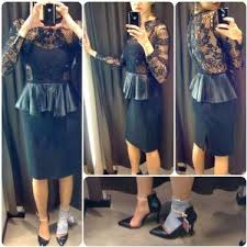 Zara Indonesia Myzarastyle Zara Style 2012 Black Dress By Gül Kaner