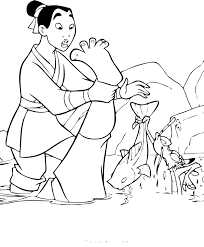 disney princess mulan coloring pages coloringstar
