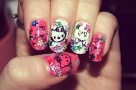15 pretty hello kitty nail designs yve style com