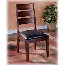 Wood Dining Chairs Ashley Larchmont Dining Chaird442 01 Home Furniture City