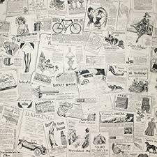 haokhome 63275 vintage newspaper peel u0026 stick wallpaper beige
