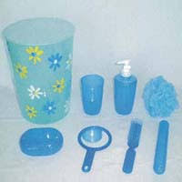 plastic bathroom set bathroom accessory set manufacturer in china