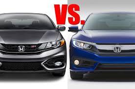 2014 Honda Civic Si Sedan Specs Watch U2013 10th Gen Honda Civic Ex Vs 9th Gen Civic Si