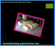 King Size Platform Bed Plans Drawers by Diy King Size Platform Bed Frame 075854 Woodworking Plans And