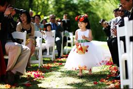 flower girl wedding tiger weddings