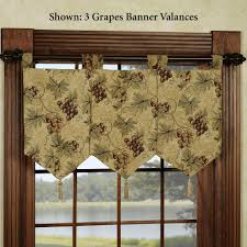 Kitchen Curtains Valances And Swags by Decor White Wall Design Ideas With Also Decor Kitchen Curtains