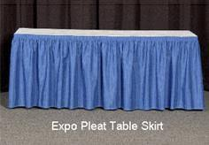 Cloth Table Skirts by Table Skirting Banquet Table Skirts Stretch Fabric Table