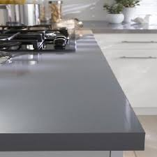 plan de travail stratifié cuisine plan de travail stratifie cuisine gris brillant castorama