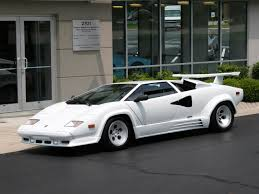 all white lamborghini lamborghini countach 2448063