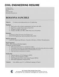sample civil engineer resume civil engineer resume sample
