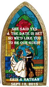 What Town Is Beauty And The Beast Set In Beauty And The Beast Save The Dates Weddingbee Wedding