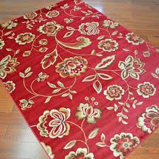 Area Rugs Ct Delectably Yours City Flora Times Claret Floral Area Rug