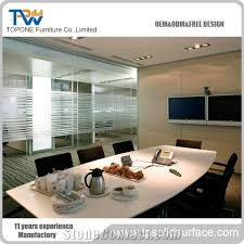 Marble Boardroom Table Artificial Marble Stone 40 Seats Conference Table Design Factory