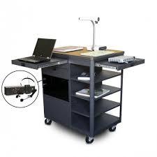 Marvel Office Furniture Vizion Presenter Multimedia AV Cart Grey
