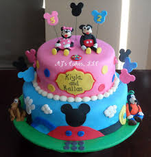 mickey mouse clubhouse cake cake by amanda reinsbach cakesdecor