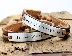 His And Hers Engraved Bracelets Personalized Couple Bracelets His And Her By Braceletbracelet