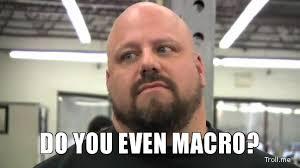 Macro Meme - do you even macro bro krank systems