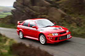 mitsubishi evo 8 red history of the mitsubishi evo picture special autocar