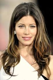 highlights vs ombre style jessica biel long hair highlighted tips celebrities i can t get