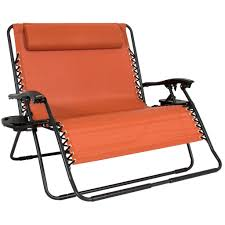 Beach Lounge Chair Best Choice Products Folding 2 Person Oversized Zero Gravity Lounge Ch