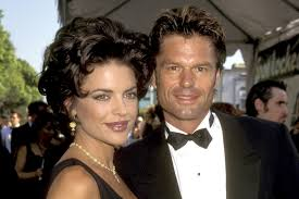 lisa rinna u0026 harry hamlin hair through the years see pics the