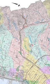 Berkeley Map Temescal Creek Watershed Map