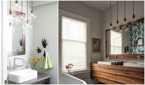 bathroom pendant lighting ideas create a clean bathroom with the right suspension light photo of