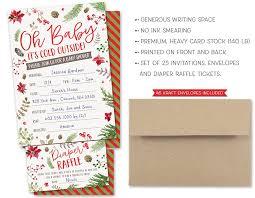 amazon com baby it u0027s cold outside winter baby shower invitations