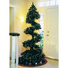 christmas topiary topiary christmas tree spiral christmas tree and garlands
