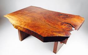 amazon com live edge walnut coffee table inspired by george