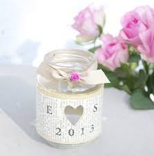 personalised recycled jam jar candle holders jam jar candles