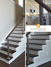 How To Install Stair Banister Best 25 Stair Railing Kits Ideas On Pinterest Staining Stairs