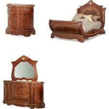 Aico California King Bedroom Furniture Sets EBay - Grande sleigh 5 piece cal king bedroom set