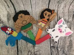 moana inspired finger puppet maui inspired finger puppet hei