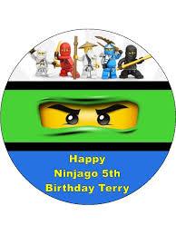 ninjago cake toppers lego ninjago cake topper 3 topcake ireland