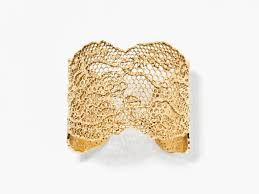 gold vintage bracelet images Yellow gold vintage lace bracelet aur lie bidermann jpg