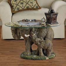 Unique Coffee by Best 30 Of Elephant Coffee Tables With Glass Top