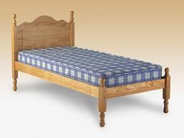 Santos Antique Pine Bed Frame Single Wooden Beds Frames From 84 97 Archers