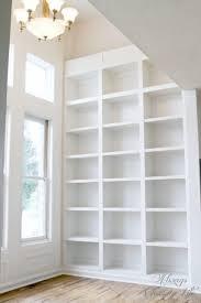 Bookshelves Library Fawn U0027s Library Built In Bookshelves Reveal Sawdust