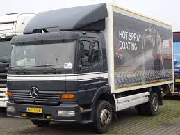 kw box truck damaged mercedes benz atego 1223 l teile sloop closed box trucks