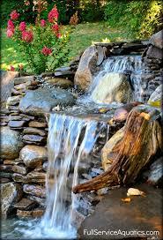 Best Garden Ponds Waterfalls And Features Images On Pinterest - Backyard waterfall design