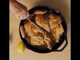 Chicken Piccata Ina Garten Ina Garten Skillet Roasted Lemon Chicken Youtube